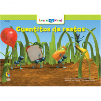 CTP8276 - Cuentitos De Restas - Little Number Stories Subtraction in Books