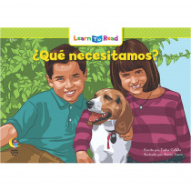 CTP8281 - Que Necesitamos - What Do We Need in Books
