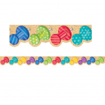 CTP8347 - Bold Bright Push Pins Border in General