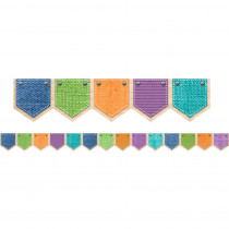 CTP8377 - Patterned Pockets Border Upcycle Style in Border/trimmer