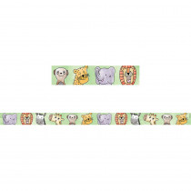 CTP8398 - Large Safari Friends Magnetic Strip Decor in General