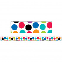 CTP8400 - Small Colorful Spot Magnetic Strips Bold Bright Decor in General