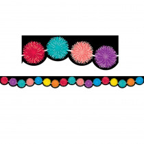 CTP8408 - Pompoms Border in Border/trimmer