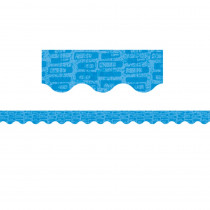 CTP8413 - Midcentury Mod Blue Blocks Border in Border/trimmer