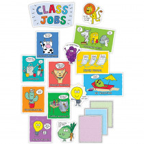 CTP8447 - So Much Pun Class Jobs Mini Bulletin Board Set in Classroom Theme