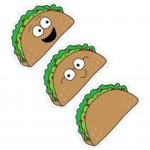 CTP8455 - Lets Taco Bout 6In Design Cut-Outs So Much Pun in Accents