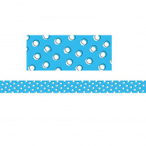 CTP8491 - So Much Pun Doodle Dot On Blue Brdr in Border/trimmer