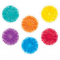 CTP8527 - Pom-Poms 3 Inch Designer Cut-Outs in Accents