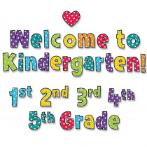 CTP8580 - Welcome To Mini Bulletin Board in Classroom Theme