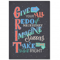 CTP8581 - Grit Inspire U Poster in Inspirational