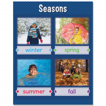 CTP8615 - Seasons Chart in Classroom Theme