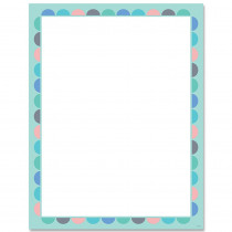 CTP8636 - Calm & Cool Blank Chart in Classroom Theme