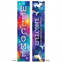 CTP8639 - Mystical Magical Welcome  2-Sided Banner in Banners
