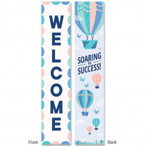 CTP8640 - Calm & Cool Welcome Bannner 2-Sided in Banners
