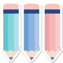 CTP8664 - 6In Designer Cut-Outs Pencils Calm & Cool in Accents