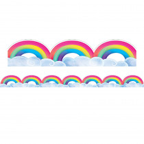 CTP8674 - Mystical Rainbows And Clouds Border in Border/trimmer