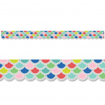 CTP8687 - Poppin' Scallops Border in Border/trimmer