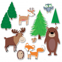 CTP8689 - Jumbo Woodland Friends Bb St in Classroom Theme