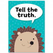 CTP8694 - Tell The Truth Woodland Friends Inspire U Poster in Inspirational