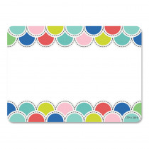 CTP8707 - Poppin Scallops Name Tag Labels in Name Tags