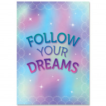 CTP8712 - Follow Your Dreams Mystical Magical Inspire U Poster in Inspirational