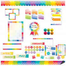 CTP8882 - Painted Palette Classroom Collectn in Classroom Theme