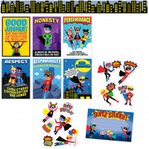 CTP8885 - Super Hero Pack in Classroom Theme