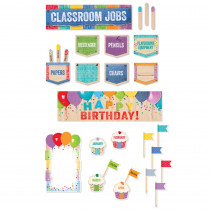 CTP8901 - Upcycle Style Mini Bulletin Board Pack in Classroom Theme