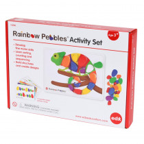 CTU13206 - Rainbow Pebbles Activity Set in Pretend & Play