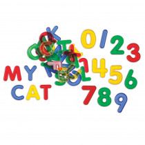 CTU56500 - Letters & Number Set Mini Jar Transparent in Letter Recognition