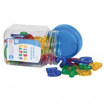 CTU56504 - Transparent Number Set Mini Jar in Numeration