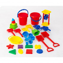CTU7013 - Sand Play Tool Set 30Pcs in Sand & Water