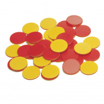 CTU7209 - Two Color Plastic Counters 200/St in Counting
