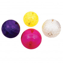 Sensory Flashing Balls Large Texture, 4-Piece Set - CTU72207 | Learning Advantage | Sensory Development