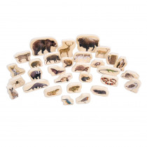 CTU72304 - Wooden Forest Animal Blocks in Blocks & Construction Play