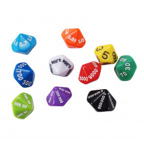 CTU7309 - Place Value And Decimal Dice 10 Set in Place Value