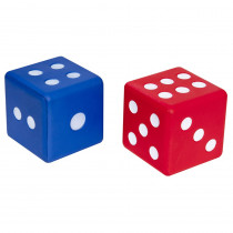 CTU7317 - Jumbo Foam Dice Set Of 2 in Dice