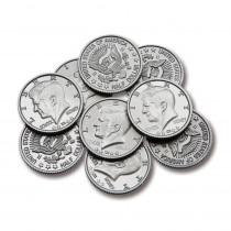 CTU7501 - Half-Dollar Coins Set Of 50 in Money