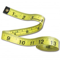 CTU7614 - Tape Measures Set Of 10 in Rulers