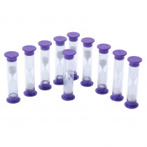 CTU7626 - 3 Minute Sand Timers Set Of 10 in Sand Timers