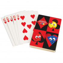 CTU7658 - Giant Playing Cards 4.25 X 7.75In in Card Games