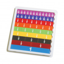 CTU7660 - Fraction Tiles With Tray in Fractions & Decimals
