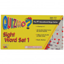 CTU8207 - Quizmo Sight Word Set 1 in Quizmo