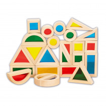 CTU9360 - Rainbow Blocks Set Of 24 in Blocks & Construction Play