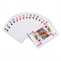 CTU9600 - Giant Playing Cards in Card Games
