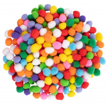 Pom Poms - Set of 240 - CTUCE10013 | Learning Advantage | Craft Puffs