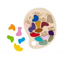 Artist Palette Puzzle - CTUFF456 | Learning Advantage | Puzzles