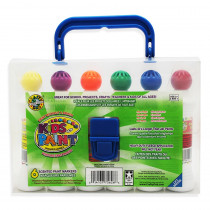 CV-75626 - Crafty Dab Paint 6 Pk W/Carrying Case in Paint
