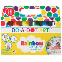 DAD101 - Do-A-Dot Markers Rainbow Pack 6 Cnt in Markers
