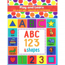 DADB310 - Play And Learn Act. Book in Art Activity Books